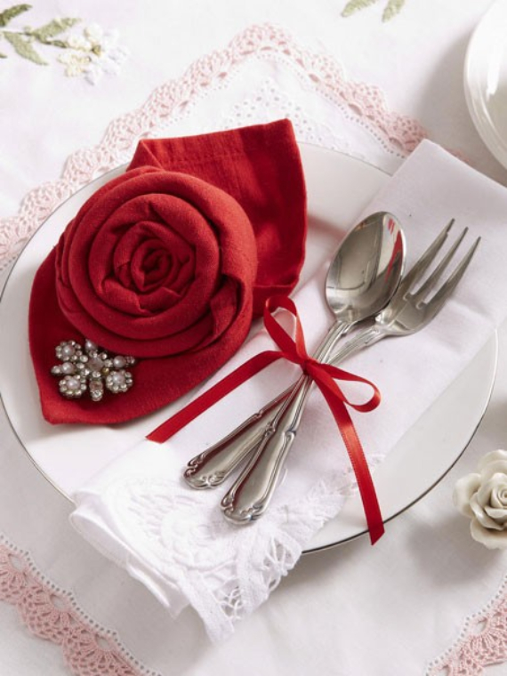 Floral Table Decoration For A Romantic Valentine's Day (36)