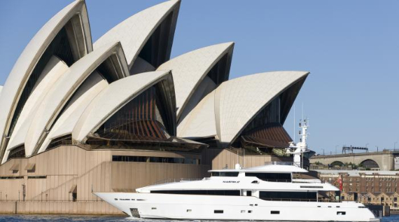 luxury charter boat sydney harbour - photo#26