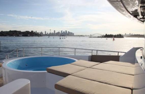 luxury charter boat sydney harbour - photo#20