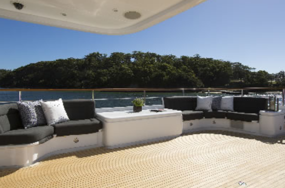 luxury charter boat sydney harbour - photo#32