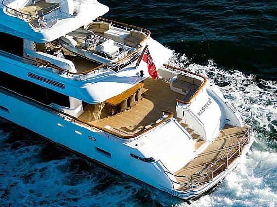 luxury charter boat sydney harbour - photo#35