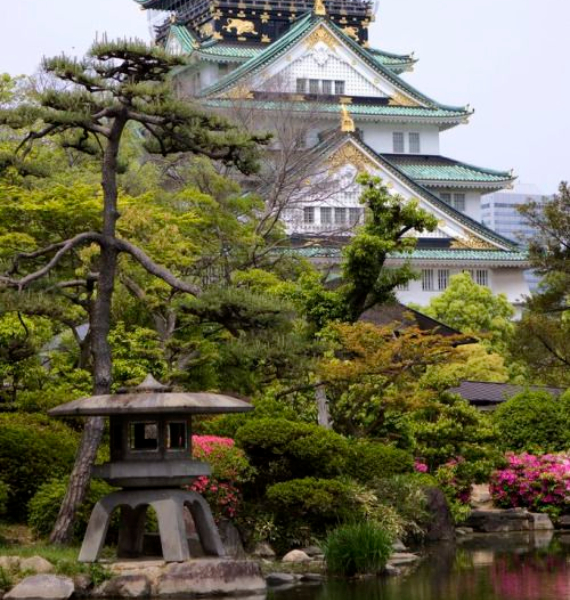 The Harmony and Beauty outside the Osaka Castle Japan (20)