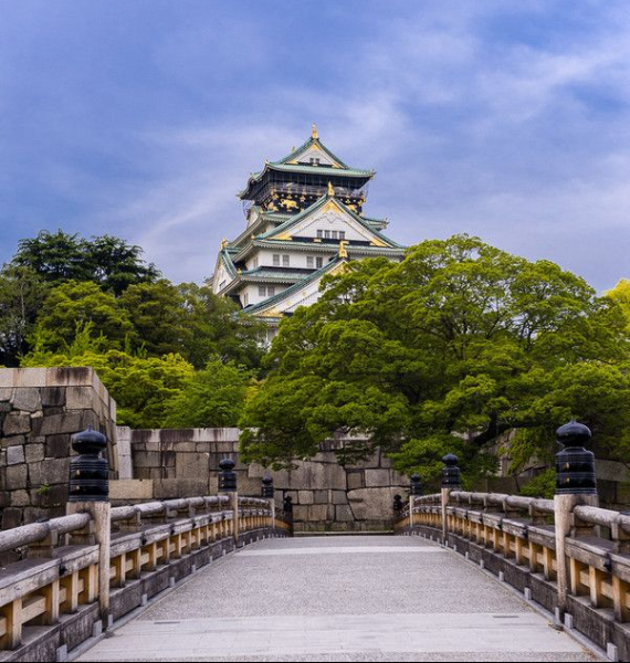 The Harmony and Beauty outside the Osaka Castle Japan (31)
