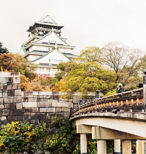 The Harmony and Beauty outside the Osaka Castle Japan (32)