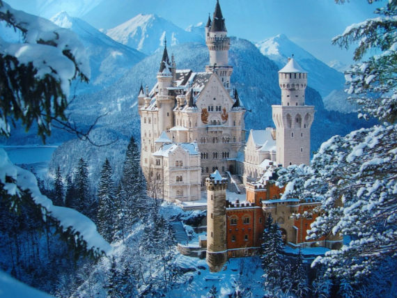 The Swan King's Castles Neuschwanstein– Germany (12)
