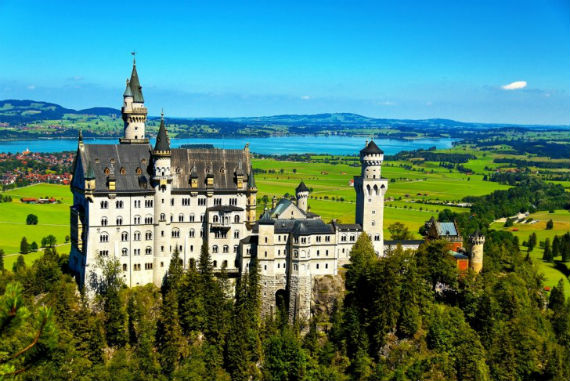 The Swan King's Castles Neuschwanstein– Germany (13)