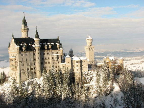The Swan King's Castles Neuschwanstein– Germany (14)