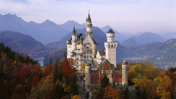 The Swan King's Castles Neuschwanstein– Germany (16)