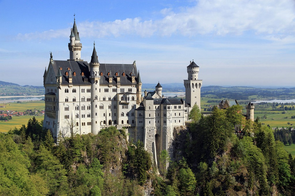 The Swan King's Castles Neuschwanstein– Germany (2)