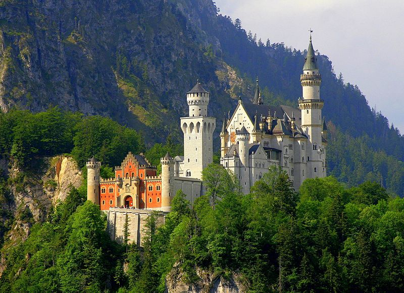 The Swan King's Castles Neuschwanstein– Germany (22)