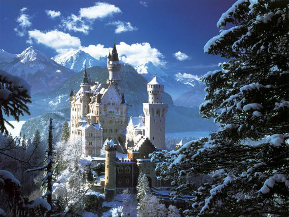 The Swan King's Castles Neuschwanstein– Germany (5)