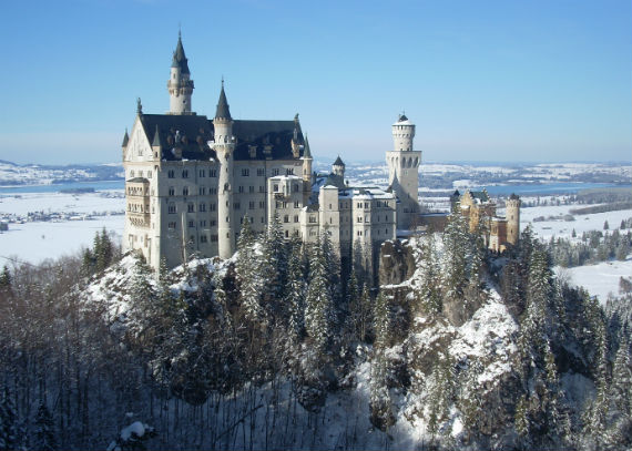 The Swan King's Castles Neuschwanstein– Germany (8)