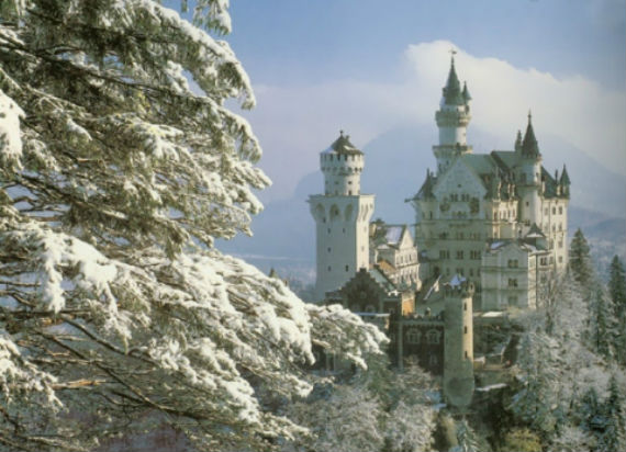 The Swan King's Castles Neuschwanstein– Germany