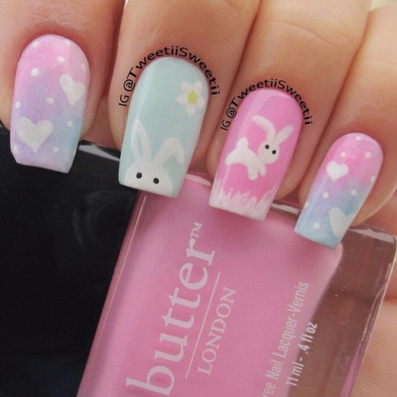 25 Adorable Easter Nails To Get You In The Holiday Pastel Mood (12)