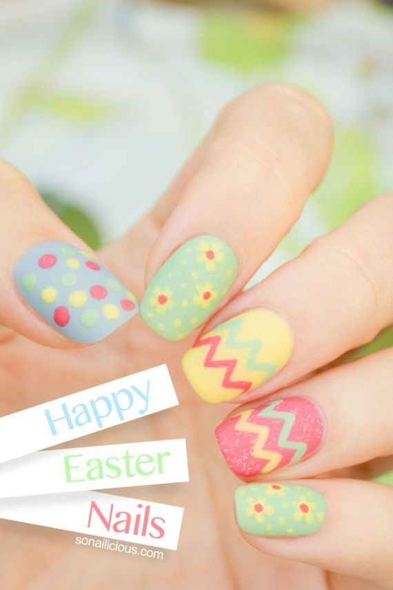 25 Adorable Easter Nails To Get You In The Holiday Pastel Mood (14)