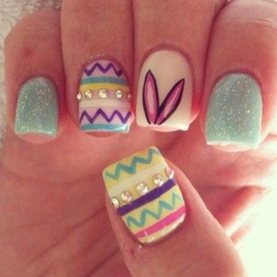 25 Adorable Easter Nails To Get You In The Holiday Pastel Mood (23)