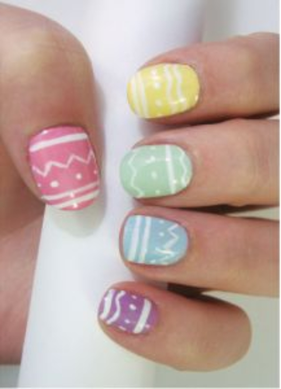 25 Adorable Easter Nails To Get You In The Holiday Pastel Mood (9)