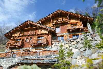 Chalet Druchka, Luxury Vacation Chalet Rental Meribel, France