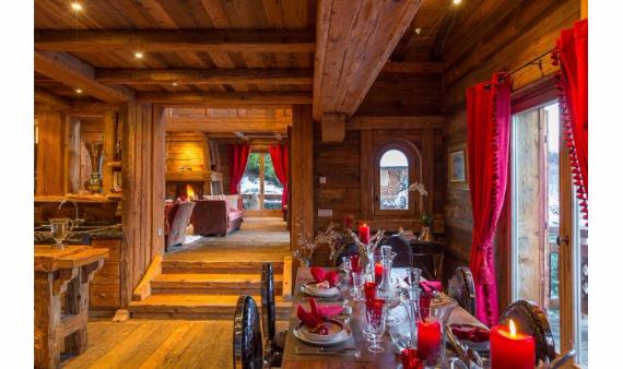 Chalet Druchka, Luxury Vacation Chalet Rental Meribel, France (11)