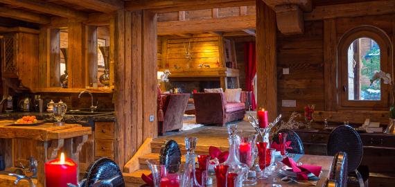 Chalet Druchka, Luxury Vacation Chalet Rental Meribel, France (20)