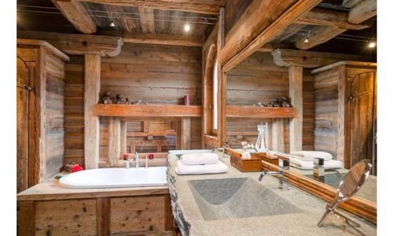 Chalet Druchka, Luxury Vacation Chalet Rental Meribel, France (3)