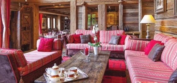 Chalet Druchka, Luxury Vacation Chalet Rental Meribel, France ...