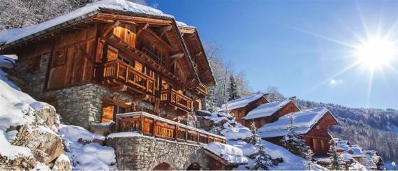 Chalet Druchka, Luxury Vacation Chalet Rental Meribel, France (5)