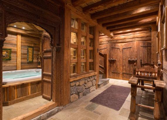Chalet Druchka, Luxury Vacation Chalet Rental Meribel, France (7)