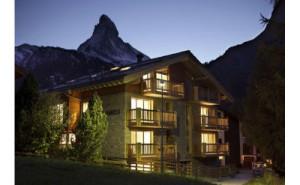 Great Holidays at Zermatt Ski Paradise Overlooking the Swiss Alp