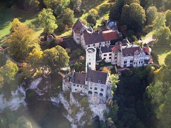 Lichtenstein Castle -The Only True Fairytale Castle-Germany (1)