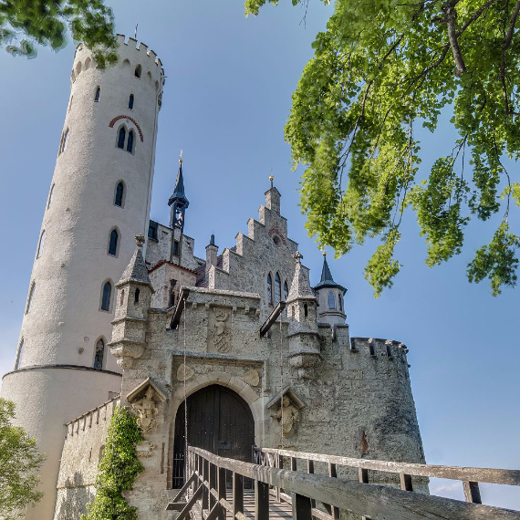 Lichtenstein Castle -The Only True Fairytale Castle-Germany (2)
