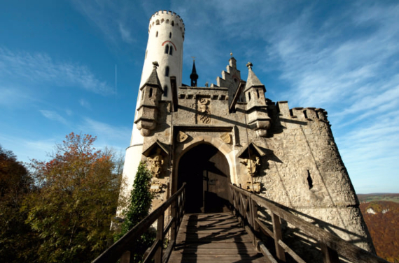 Lichtenstein Castle -The Only True Fairytale Castle-Germany (6)