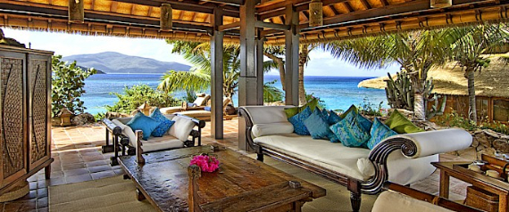 Living The Dream- Exotic Getaway Hiding Out In Style at Necker Island (6)