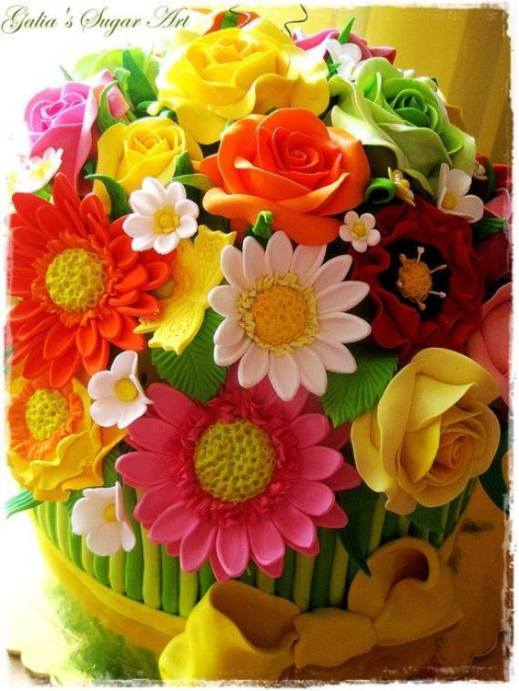 Mother S Day Cake Decoration Ideas : 55 Mother s Day Cakes And Bakes Decorating Ideas - family ...