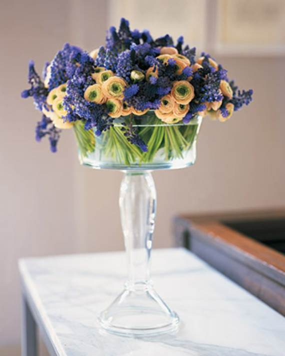Simple spring flower arrangements table centerpieces and