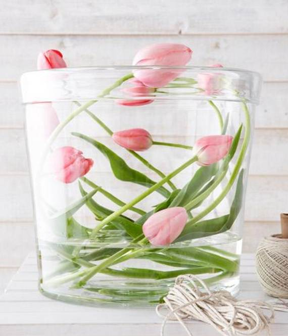 35 Simple Spring Flower Arrangements Table Centerpieces And Mothers