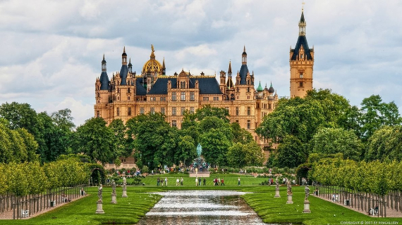 The Jewel Of Lake Schwerin- Schwerin Castle And Park (3)