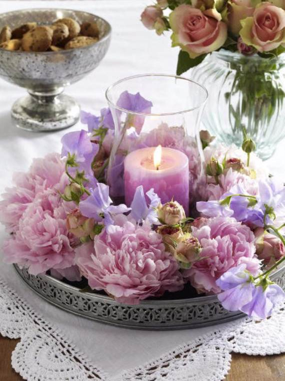 Decorative-Candles-and-Flowers-Cute-Mothers-Day-Gift-Ideas-32