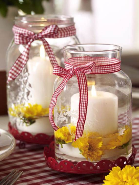 decorative candles and flowers cute mothers day gift - Decorative Candles