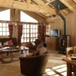 Les Trois Coeurs  Exceptional Meribel's Ski chalet In The French Alps