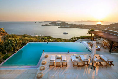 Villa Agi Lazro One Of The Hidden Holiday Homes Of Mykonos Greece