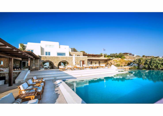 Villa Agi Lazro, One Of The Hidden Holiday Homes Of Mykonos Greece (12)