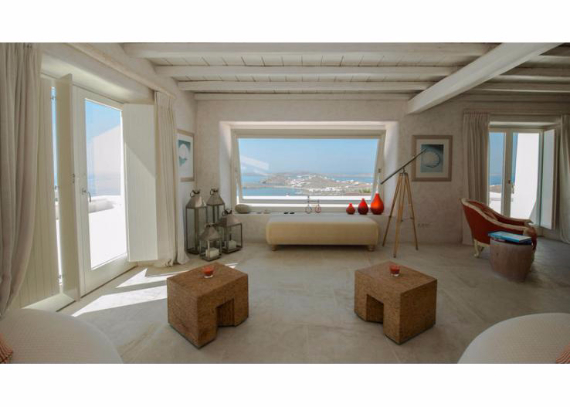 Villa Agi Lazro, One Of The Hidden Holiday Homes Of Mykonos Greece (2)
