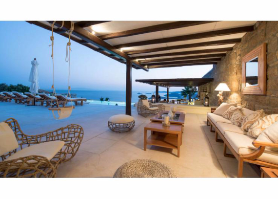 Villa Agi Lazro, One Of The Hidden Holiday Homes Of Mykonos Greece (6)
