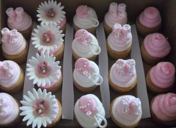 50 Baby Shower Cupcake Cakes In Unique Shape