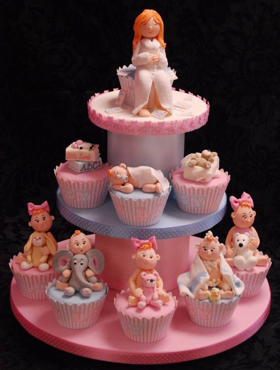 50 baby shower cupcake cakes in unique shape family net