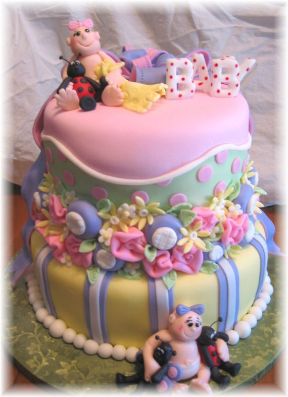 50 Gorgeous Baby Shower Cakes (21)