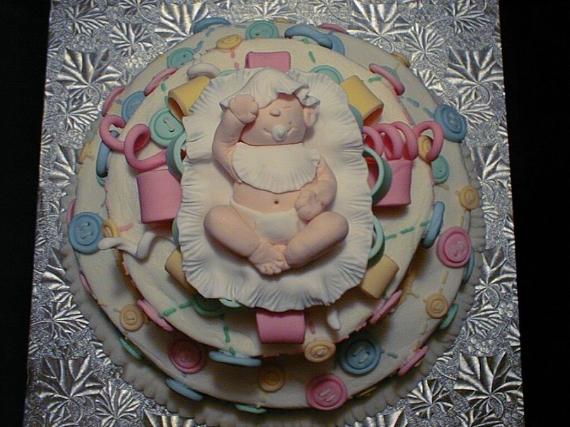 50 Gorgeous Baby Shower Cakes (8)