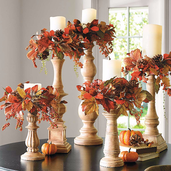 40 Nature Inspired Fall Decorating Ideas And Easy Diy Decor: 33 Easy & Warm Fall Decorating Ideas
