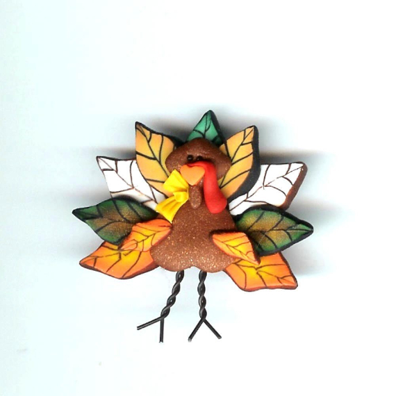 Thanksgiving and Fall Polymer Clay Craft Projects (11)
